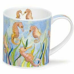 Orkney - Seaside seahorses mug