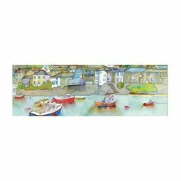 Emma Ball 2 Fold Card Calm Harbour