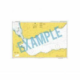 CP4 Panamá Canal, Gaillard Cut Admiralty Chart