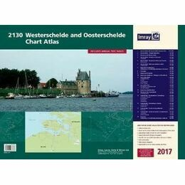 Imray 2130 Westerscheldwe and Oosterschelde Charty atlas