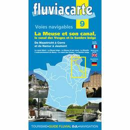 Fluviacarte No 9 La Meuse Et Son Canal