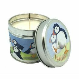 Emma Ball Scented Candle Tin - Vanilla