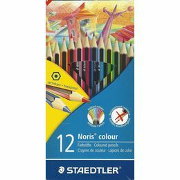 Coloured Pencils, 12 pack