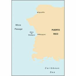 Imray Chart A11 Bahia de Guanica to Punta Borinquen