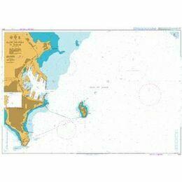 1001 Rade and Port of Dakar Admiralty Chart