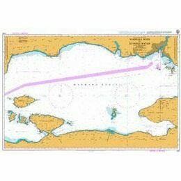 1005 Marmara Adasi to Istanbul Bogazi (The Bosporus) Admiralty Chart