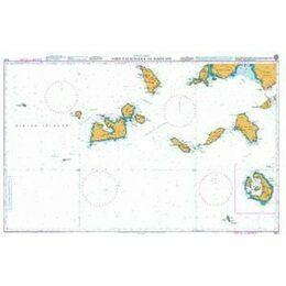 1037 Nisis Falkonera to Nisos Ios Admiralty Chart