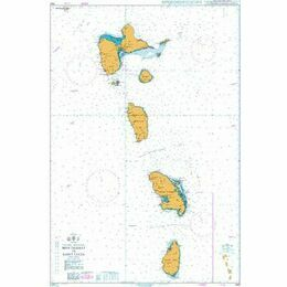 1042 Montserrat to St Lucia Admiralty Chart