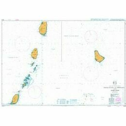 1043 St Lucia to Grenada & Barbados Admiralty Chart