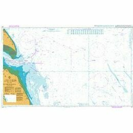 107 Approaches to the River Humber Admiralty Chart