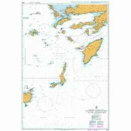 1099 Eastern Approaches to the Aegean Sea Admiralty Chart
