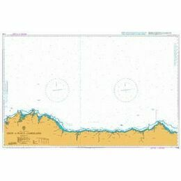 1290 North Coast Cabo de San Lorenzo to Cabo Ortegal Admiralty Chart