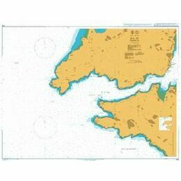 1118 Ria de Ferrol Admiralty Chart
