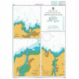 1133 Ports on the North Coast of Spain Admiralty Chart