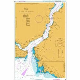 1159 Istanbul Bogazi Guneyi (Southern Bosporus) Admiralty Chart