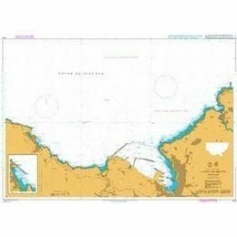 1174 Approaches to de Bilbao Admiralty Chart
