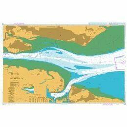 1185 River Thames - Sea Reach Admiralty Chart