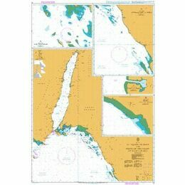 12 El `Aqaba to Duba and Ports on the Coast of Saudi Arabia Admiralty Chart