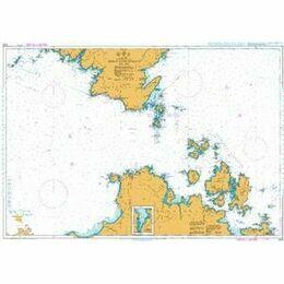 1213 Bonifacio Strait Admiralty Chart