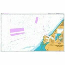 122 Approaches to Europoort & Hoek Van Holland Admiralty Chart