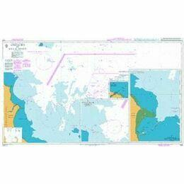 1224 Approaches to Ra's Al Khafji Admiralty Chart