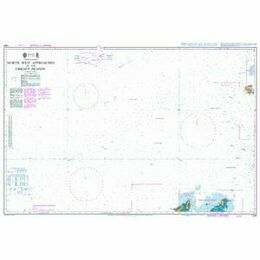 1234 North West Approaches to the Orkney Islands Admiralty Chart