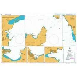 131 Ports on the West Coast of Italy Admiralty Chart