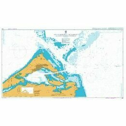 1315 Five Fathom Hole, The Narrows & St. George's Admiralty Chart