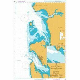 1356 Bahia de Corisco to Estuaire Du Gabon Admiralty Chart