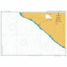 1364 Monrovia to Greenville Admiralty Chart