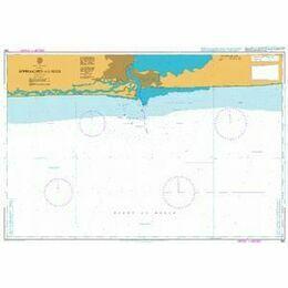 1383 Lagune Aby to Tema Admiralty Chart