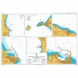 140 Crotone, Gallipoli and Bari with Approaches Admiralty Chart