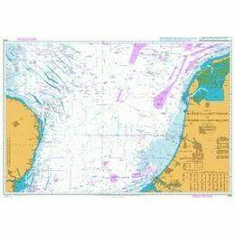 1408 Harwich & Rotterdam to Cromer & Terschelling Admiralty Chart