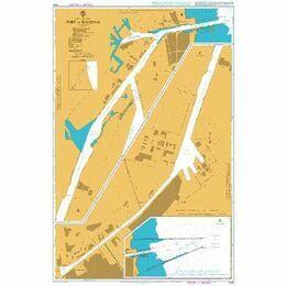 1445 Port of Ravenna Admiralty Chart