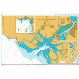 1456 Port de Douala and Approaches Admiralty Chart