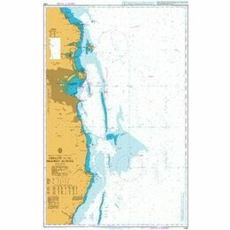 1468 Arklow to the Skerries Islands Admiralty Chart