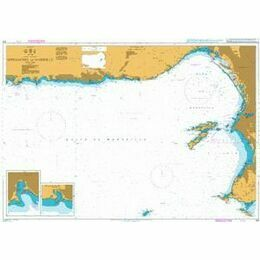 153 Approaches to Marseille Admiralty Chart