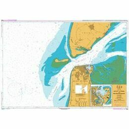 1546 Zeegat Van Texel and Den Helder Roads Admiralty Chart