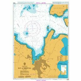 1553 Bay of Kirkwall Admiralty Chart