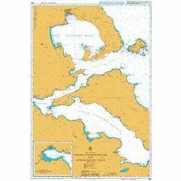 1556 Vorios Evvoikos Kolpos & approaches to Volos Admiralty Chart