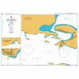 1599 Ormos Falirou and Limenas Porou Admiralty Chart