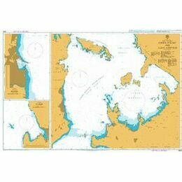1625 Khios Strait to Ildir Korfezi Admiralty Chart