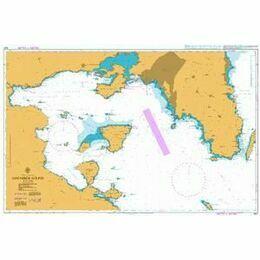 1657 Saronikos Kolpos Admiralty Chart