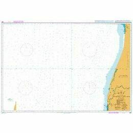 1662 Nouakchott to Saint-Louis Admiralty Chart