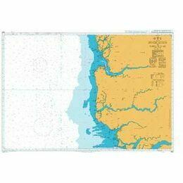 1664 Riviere Saloum to Ilheu do Caio Admiralty Chart