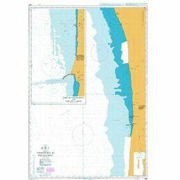 1688 Approaches to Nouakchott Admiralty Chart