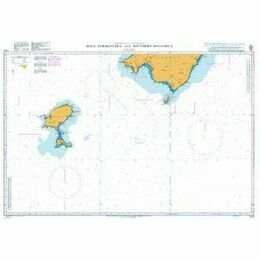 1702 Ibiza, Formentera and Southern Mallorca Admiralty Chart