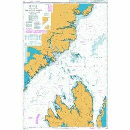 1757  Little Minch Northern Part Admiralty Chart