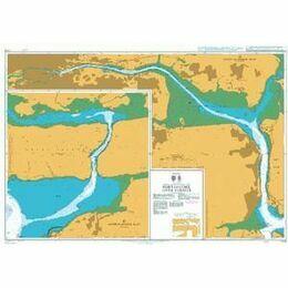 5132 Port of Cork - Upper Harbour Instructional Admiralty Chart