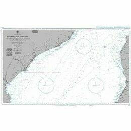 1810 Porto de Bartolomeu Dias to Porto de Antonio Enes with West Coast of Madagascar Admiralty Chart
